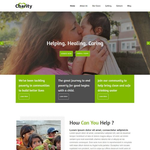 The Charity - Charity And Donation Joomla Template