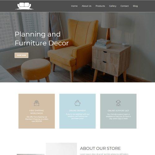 The Furniture - Furniture Store Joomla Template