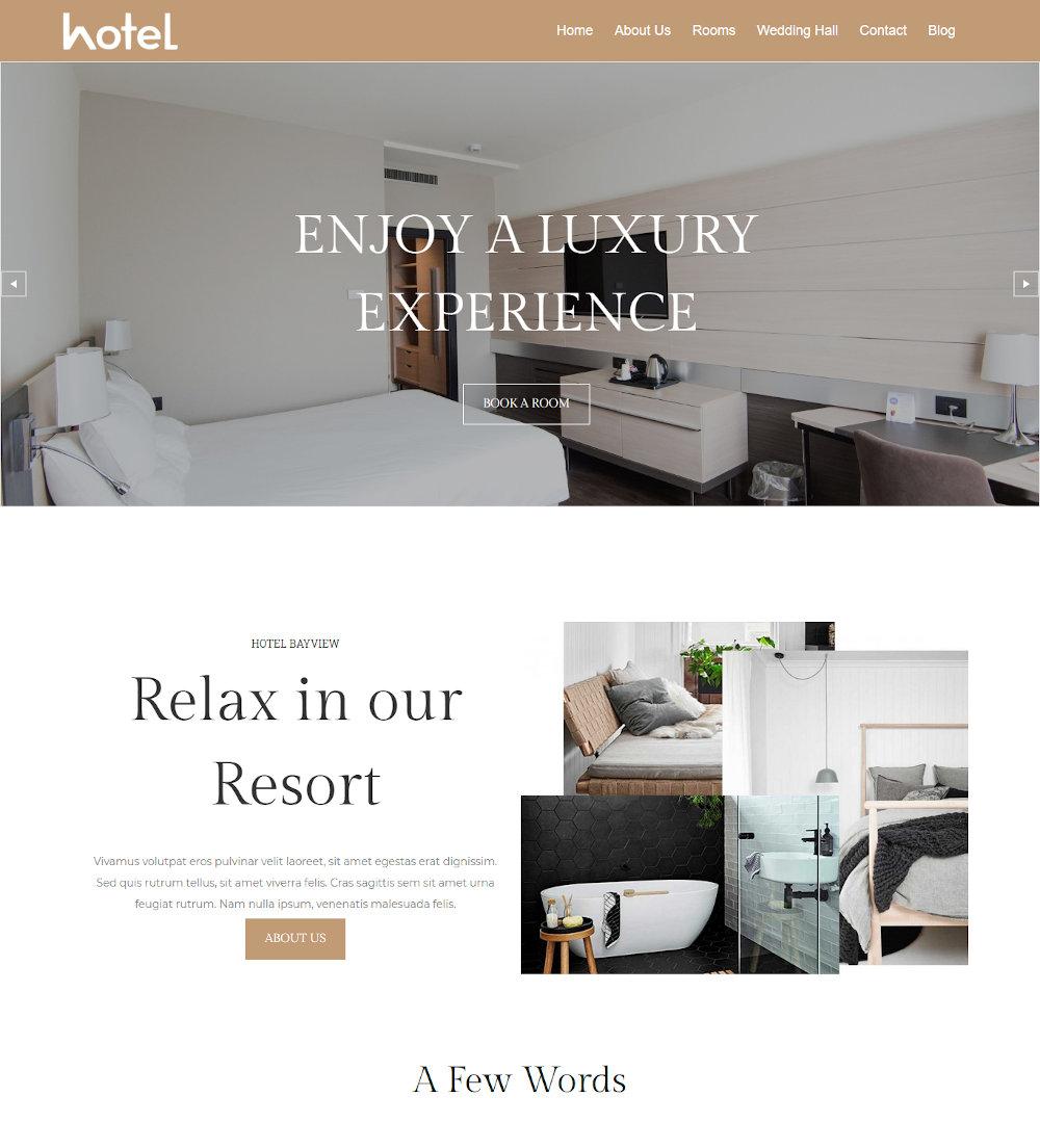The Hotel - Hotel Booking Joomla Template