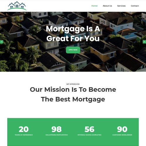 The Mortgage - Real Estate Mortgage Drupal Theme