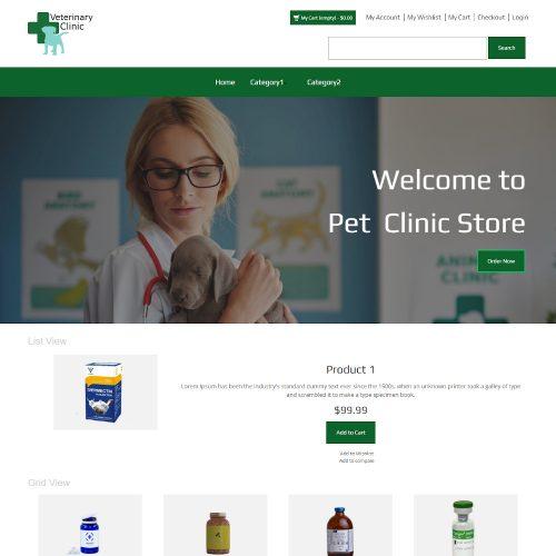 Veterinary Clinic - Pet Clinic Store Magento Theme