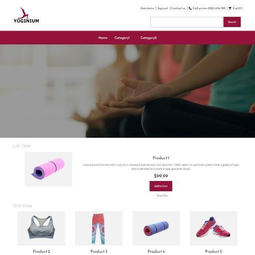 Yoginium - Yoga Store PrestaShop Theme