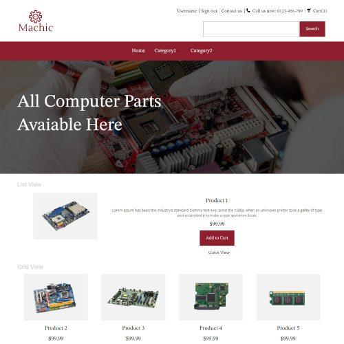 Machic - Online Computer Parts Store