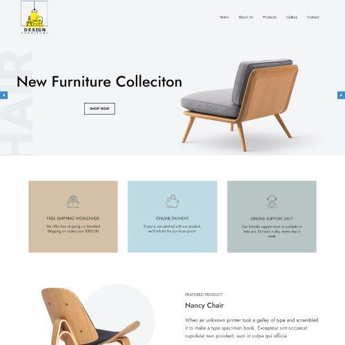 Design Furniture - Furniture Store Template