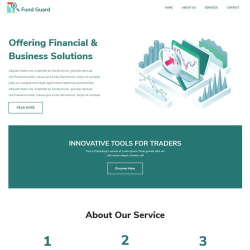 Fund-Guard-Financial-Business-Consultant-Template