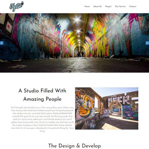 Fystic-Graffti-Artist-Template