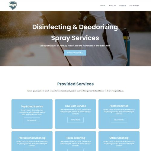 Senifey-Sanitizing-and-Cleaning-Services-Template