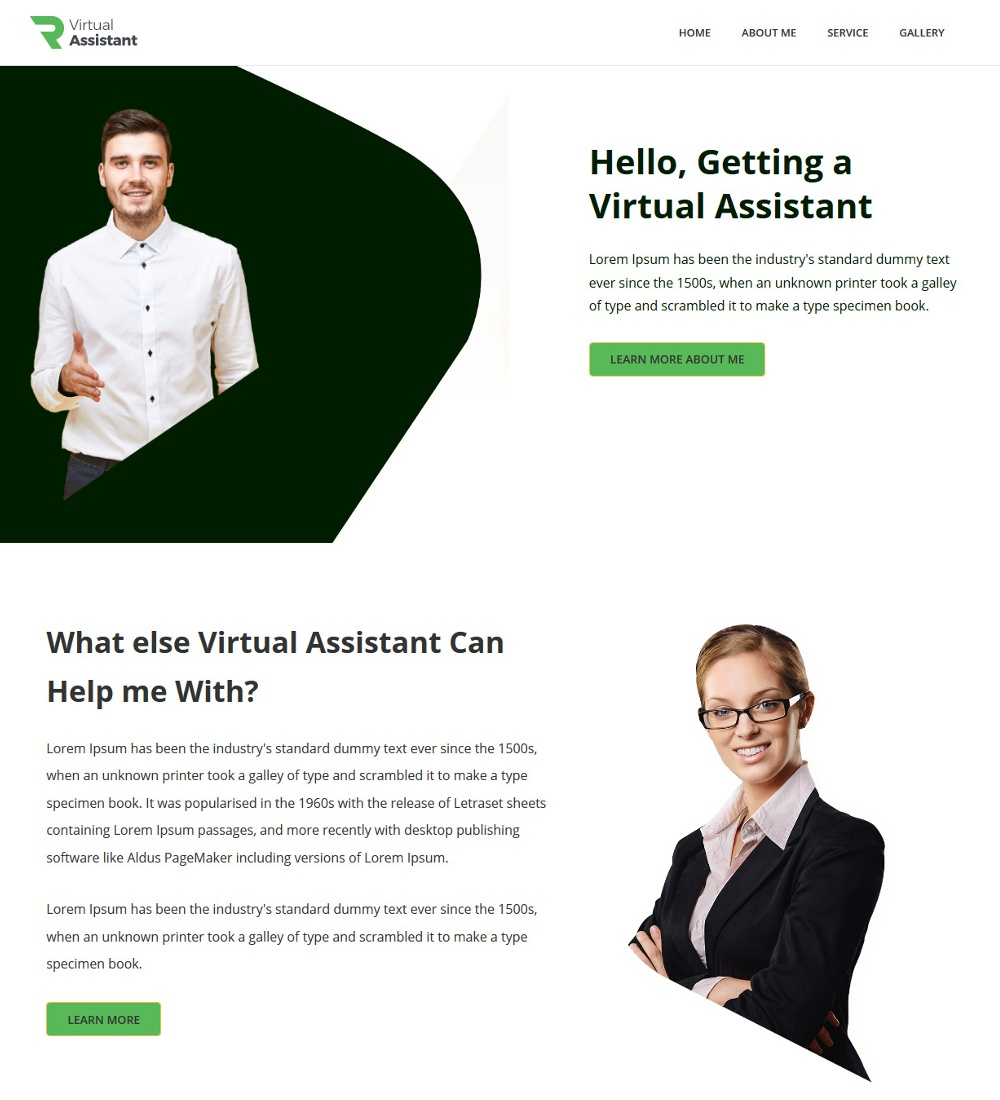 Vision-Virtual Assistant Template
